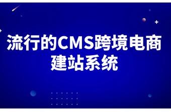 流行的CMS跨境电商建站系统